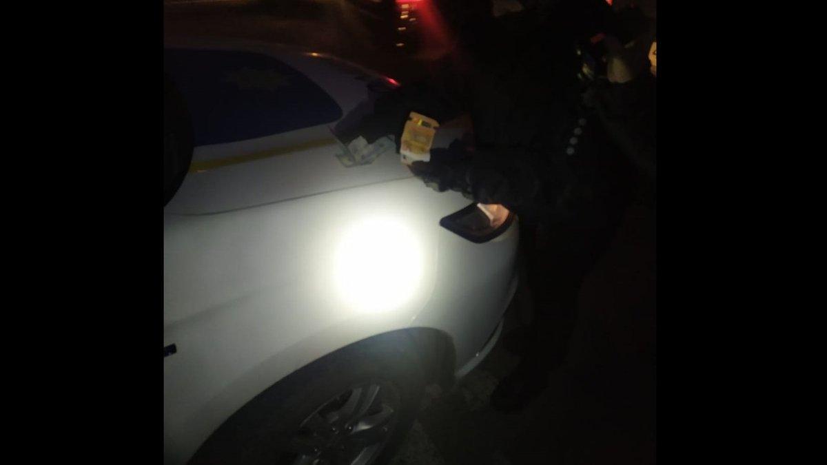 Львівські патрульні не взяли 400 євро хабара від п'яного водія - ZAXID.NET