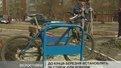 Велосипедні стійки почали облаштовувати поблизу житлових будинків