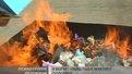Правоохоронці спалили майже 200 кг наркотиків і психотропних речовин