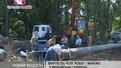 Новий поліетиленовий водогін встановлюють на вулиці Шевченка