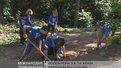 Волонтери з шести країн світу працюють у Стрийському парку