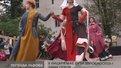 Біля Палацу Потоцьких оселилися лицарі, їхні зброєносці і середньовічні дами