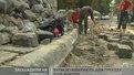 Ремонт тротуару на вул. Руставелі - на заощаджені кошти
