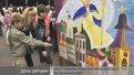 ДІти створили стометрове мальовниче полотно