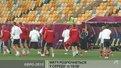 Стадіон в очікуванні протистояння Португалії та Данії