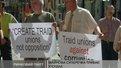 Профспілки двох ринків вийшли на акцію протесту
