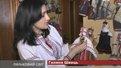Галина Швець створила вдома музей із ляльок-мотанок