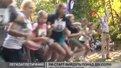 Юні боксери, вершники та футболісти бігли кілометровий крос