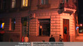У будинку на Грушевського обвалився фрагмент фасаду