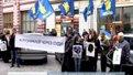 """""""Свободівці"""" вийшли під стіни Шевченківського суду на захист Фаріон"""