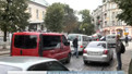 Водій пояснив пішоходу правила дорожнього руху кулаками