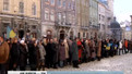 У Львові провели акцію на підтримку київського Євромайдану