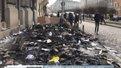 Львів'яни вирішили прибирати згарища після нічних погромів