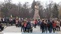 Львівські студенти протестували  проти російських військ у Криму