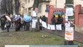 "Пікет консульства РФ: ""Москаль, на Україну зуби не скаль!"""