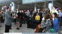 У 7 українських аеропортах симфонічні оркестри зіграли гімн Євросоюзу