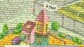 ДТЕК розмалював фасади шкіл та садків барвистим графіті