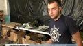 Львівські волонтери шиють розвантажувальні жилети для солдатів на передовій