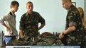 Діти львівських військових розмалювали бронежилети для бійців, які вирушать на схід