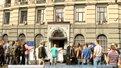 Львівські активісти вимагали призначити начальника ДАІ міста