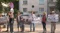 Львів'яни біля консульства Чехії вимагали адекватної оцінки ситуації на сході