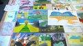 Львів'яни погасили патріотичну марку та передали в зону АТО величезну листівку