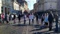 Фронтовики та родичі вояків Третього батальйону тероборони заблокували центр Львова