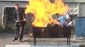 У Львові спалили понад 20 кілограмів наркотиків
