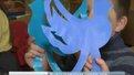 Львівські школярі передали військовим голубів миру