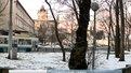 Студентський сквер поблизу собору св. Юрія реставрують
