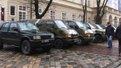 Львівські волонтери передали в зону АТО 10 броньованих автомобілів
