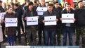 У Львові на акції проти агресії Москви прийшло багато росіян