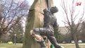 У Львові шукають свідків пошкодження пам`ятника афганцям