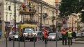 На маршруті львівського 13-го тролейбуса підвішують контактний провід