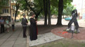 У Львові відкрили пам'ятник, присвячений жертвам СНІДу