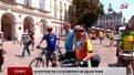 Європейські велотуристи сьогодні завітали до Львова
