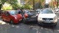 У Львові на перехресті не розминулись три машини