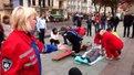 У центрі Львова мешканців навчали надавати домедичну допомогу