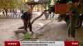 Цьогоріч парки Львова вперше прибирають не руками, а садовими пилосмоками