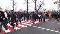 Сотні шахтарів перекрили трасу державного значення Львів – Жовква