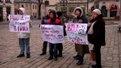 Переселенці з Донбасу пікетували міську раду у Львові