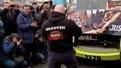 Львів'янин зубами протягнув п'ятисекційний трамвай «Електрон»