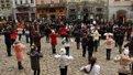У Львові діти влаштували флеш-моб задля перемоги України на чемпіонаті світу з шахів