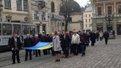 У Львові відзначили річницю підняття державного прапора на Ратуші