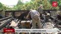 Комунальники розбирають знищений пожежею дах на вул. Руставелі