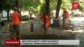 У Львові тривають роботи з облаштування японського скверу