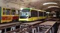 У львівське депо привезли два нових трамваї «Електрон»