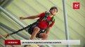 У Львові вперше в Європі екстремали стрибали у чашу стадіону