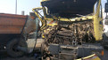 На об'їздній дорозі Львова сміттєвоз потрапив у ДТП