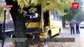 Пасажири назвали ймовірну причину зіткнення львівської маршрутки із деревом